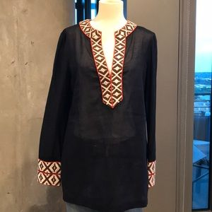 Tory Burch Sheer Tunic